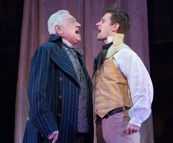 Ed Dixon (Sir Anthony Absolute) & Kevin Massey (Captain Jack Absolute/Ensign Beverly)