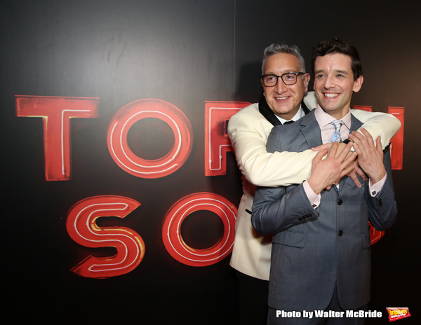 Moises Kaufman and Michael Urie