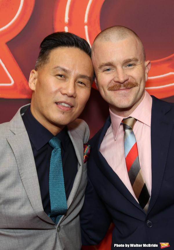 B.D. Wong and Richert Schnorr
