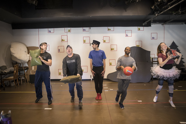 Photo Flash: In Rehearsal with Lookingglass's STEADFAST TIN SOLDIER
