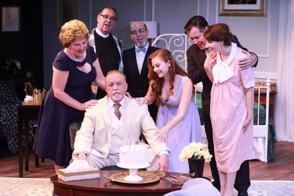 Photo Flash: Andrea Lynn Green And Michael Raver in MTC Mainstage's CAT ON A HOT TIN ROOF