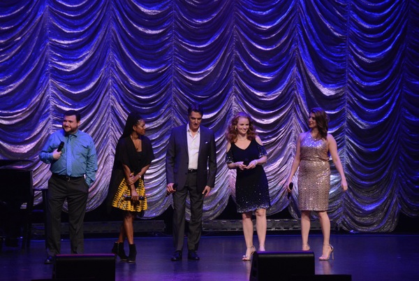 Todd Buonopane, Dan'yelle Williamson, Robert Cuccioli, Jennifer Hope Wills and Janine DiVita