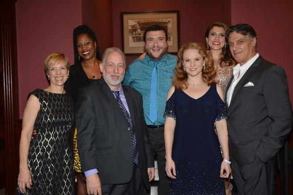 Wendy Bobbit Cavett, Stephen DeAngelis with Dan'yelle Williamson, Todd Buonopane, Janine DiVita, Robert Cuccioli and Jennifer Hope Wills