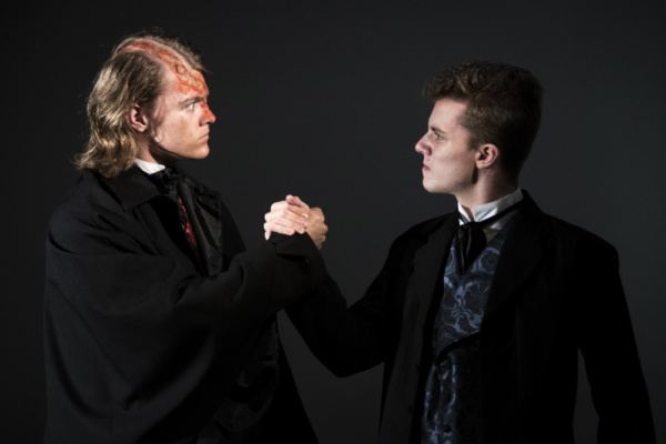 Photo Flash: Bringing The Creature To Life For Outcry Youth Theatre's FRANKENSTEIN