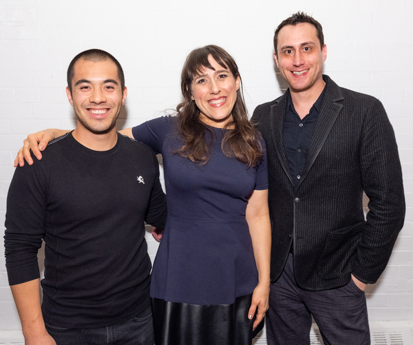 Brandon Wong, Farah Alvin, Paul Masse