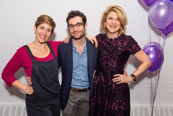 Portia Krieger, Noah Himmelstein, Victoria Clark  Photo
