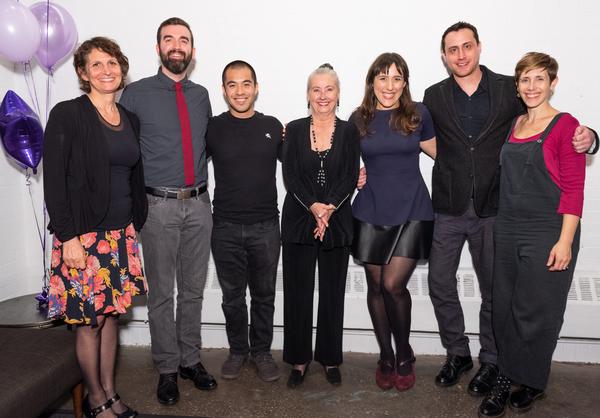 Deborah Zoe Laufer, Daniel Green, Brandon Wong, Paulette Haupt, Farah Alvin, Paul Mas Photo