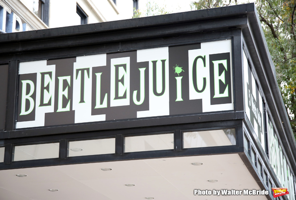 Up on the Marquee: BEETLEJUICE at the National Theatre