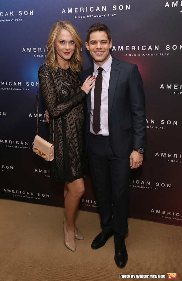 Ashley Spencer and Jeremy Jordan Photo