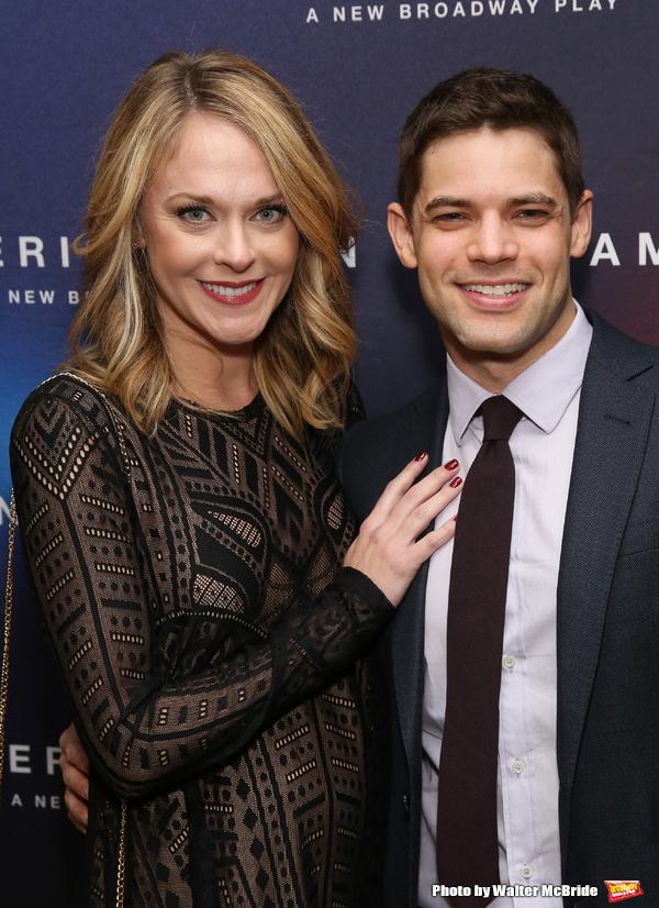 Ashley Spencer and Jeremy Jordan