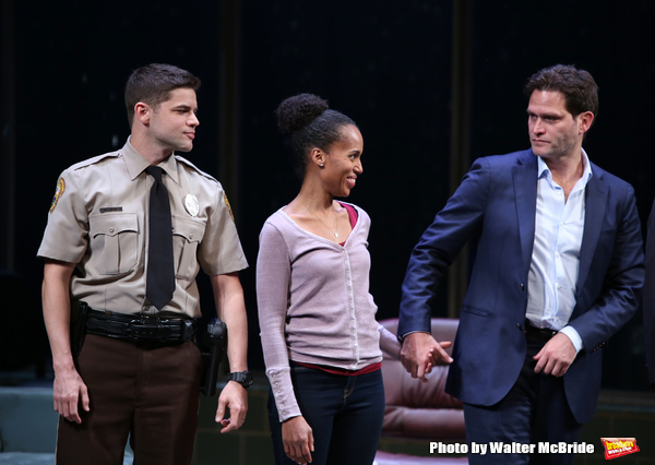 Jeremy Jordan, Kerry Washington and Steven Pasquale
