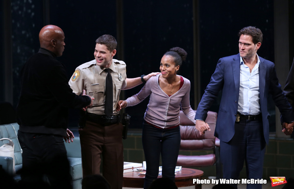 Kenny Leon, Jeremy Jordan, Kerry Washington and Steven Pasquale