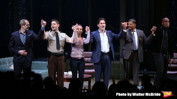 Christopher Demos-Brown, Jeremy Jordan, Kerry Washington, Steven Pasquale, Eugene Lee, Kenny Leon