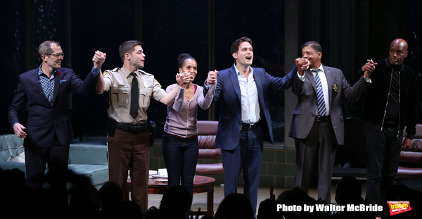 Christopher Demos-Brown, Jeremy Jordan, Kerry Washington, Steven Pasquale, Eugene Lee Photo