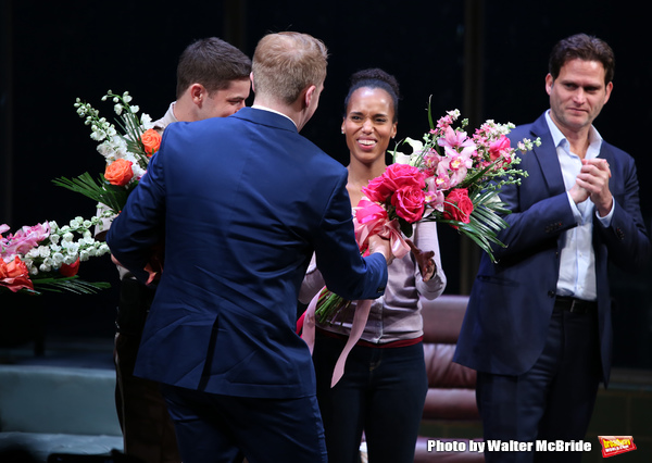 Jeremy Jordan, Kerry Washington, Steven Pasquale