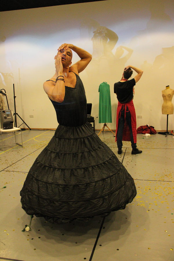 Photo Flash: In Rehearsal with THE MAIDS