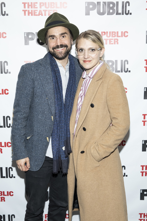 Joe Tapper and Annaleigh Ashford