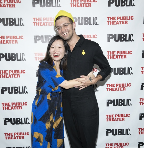 Photo Flash: The Public's Mobile Unit Celebrates Opening Night of A MIDSUMMER NIGHT'S DREAM