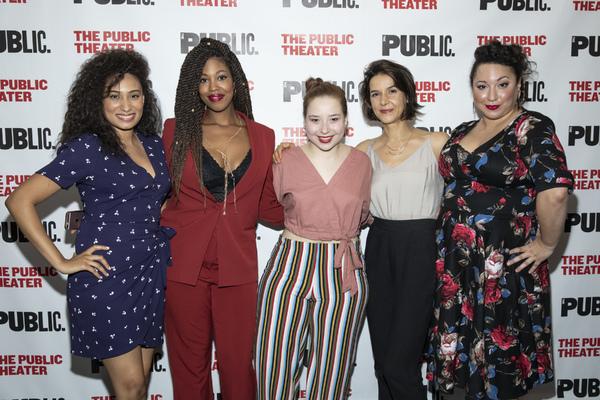Rosanny Zayas, Marinda Anderson, Carolyn Kettig, Merritt Janson, and Natalie Woolams-Torres