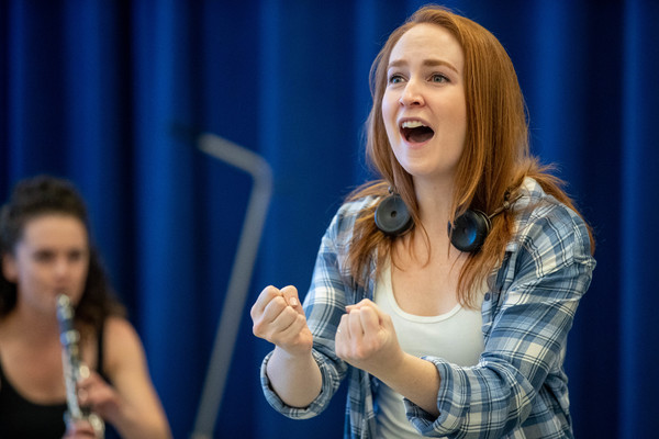 Photo Flash: Exclusive! Look Inside Rehearsals of Prospect Theater Company's THE HELLO GIRLS
