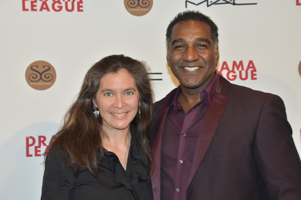 Diane Paulus and Norm Lewis