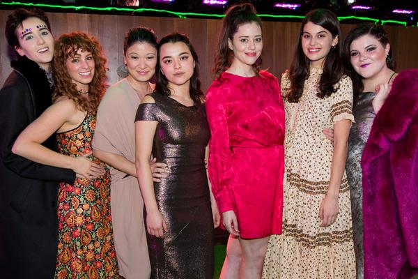 Abby Corrigan, Ali Rose Dachis, Jennifer Lim, Midori Francis, Nicole Rodenburg, Sofia Black-D'Elia, Ryann Redmond