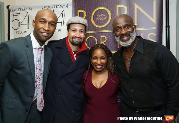 Donald Webber Jr., Lin-Manuel Miranda, Stephanie Mills and BeBe Winans
