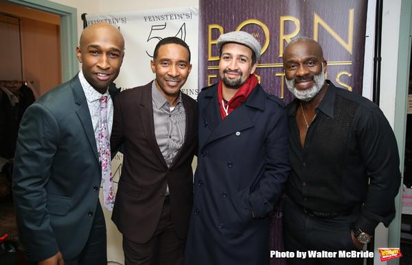 Donald Webber Jr., Charles Randolph-Wright, Lin-Manuel Miranda and BeBe Winans