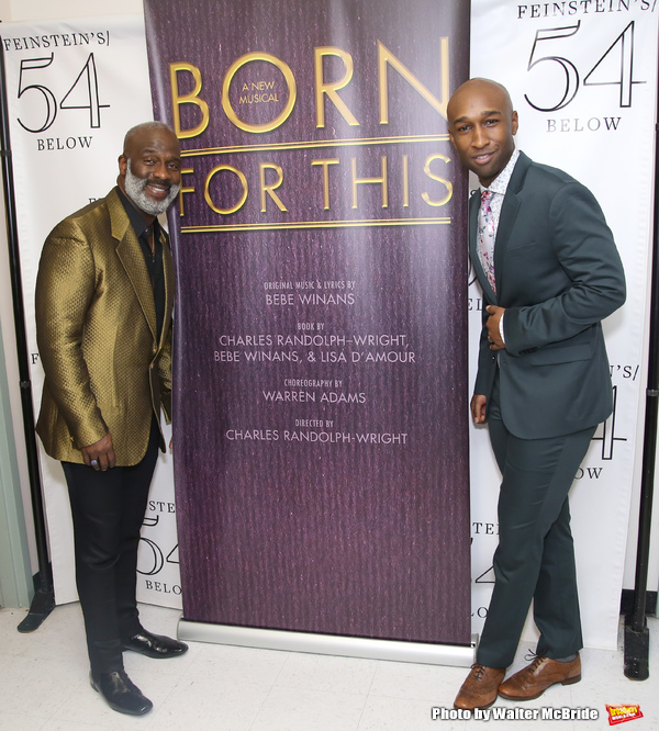 BeBe Winans and Donald Webber Jr.