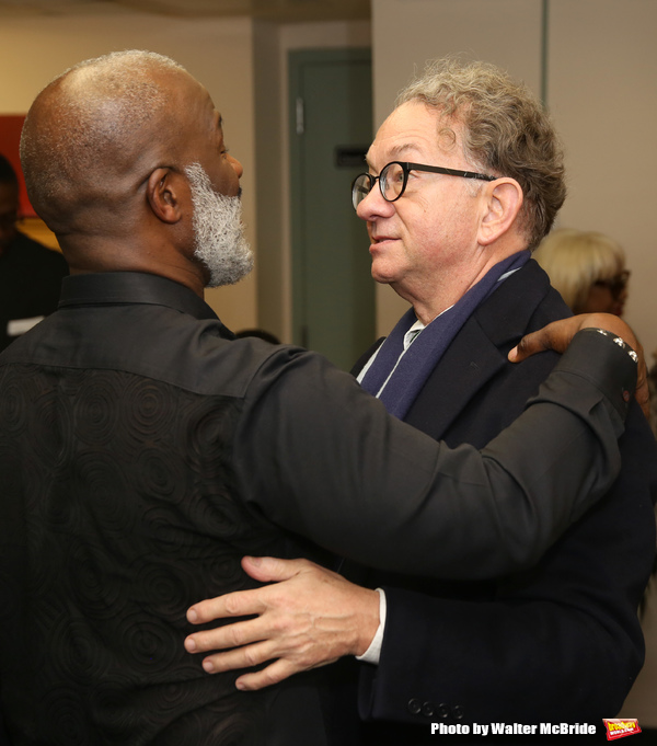 BeBe Winans and William Ivey Long
