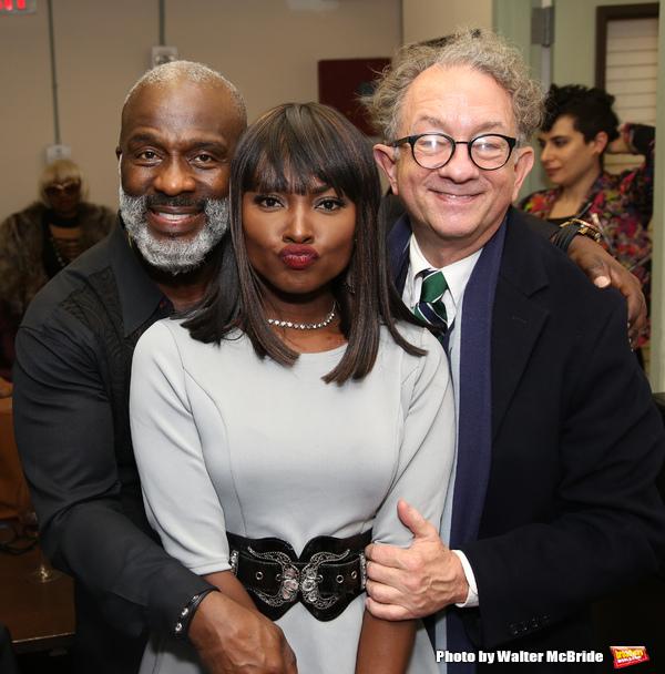 BeBe Winans, Loren Lott and William Ivey Long  Photo
