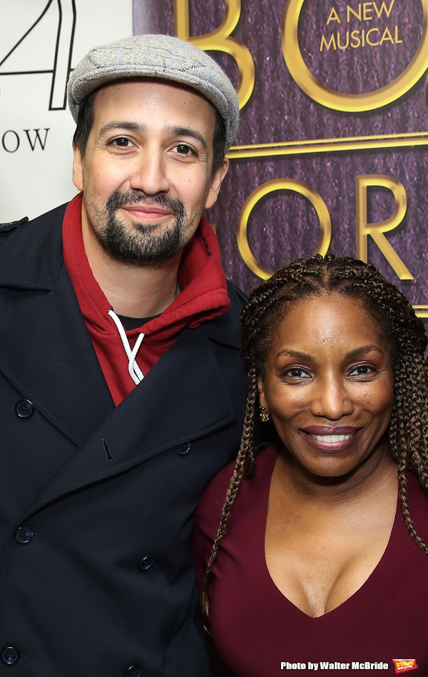 Lin-Manuel Miranda and Stephanie Mills