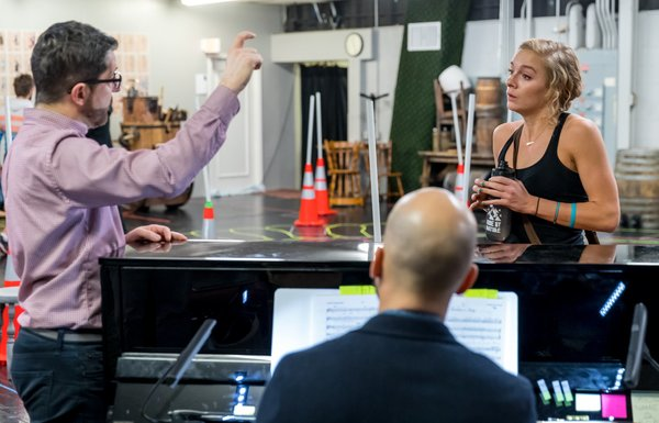 Photo Flash: Go Inside Rehearsals Of Drury Lane's BEAUTY AND THE BEAST