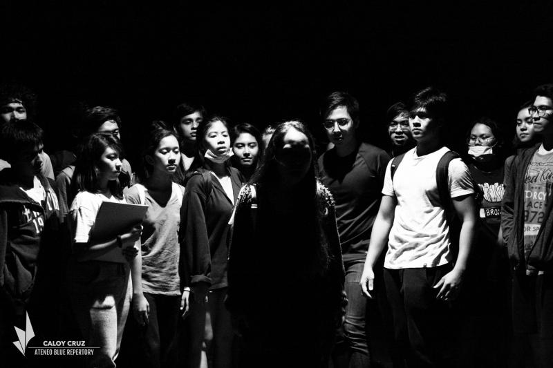 Photo Flash: In Rehearsal With CARRIE (Musical); Show Opens Today, 11/7