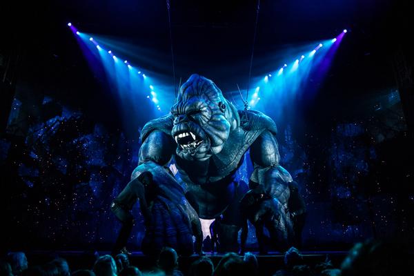 King Kong. Photo Credit:Matthew Murphy