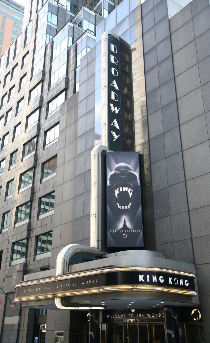 BWW TV: Watch the Stars Walk the Opening Night Red Carpet for KING KONG!