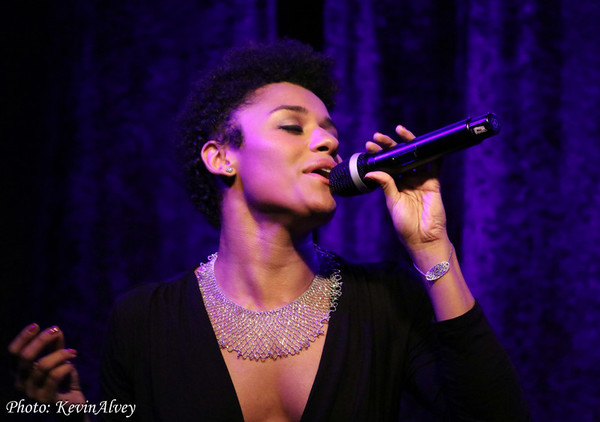 Photo Flash: Tony Nominated SUMMER Star Ariana DeBose Takes The Stage at Birdland!