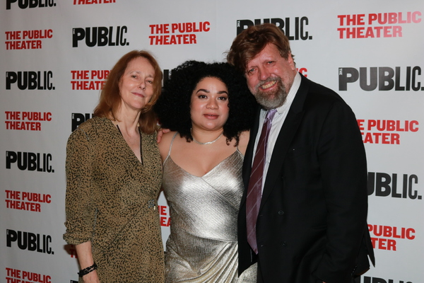 Jo Bonney, Patricia Ione Lloyd and Oskar Eustis Photo