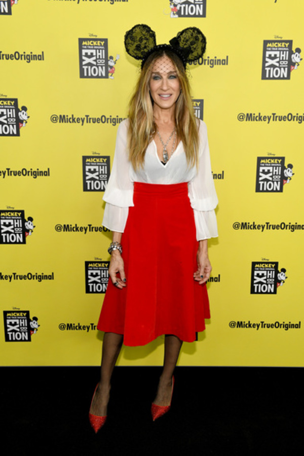 Photo Coverage: Sarah Jessica Parker Attends the 'Mickey: The True Original Exhibition'