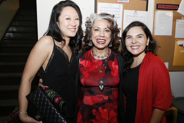 From left, cast members Melanie Arii Mah, Rose Portillo and Christy Sandoval