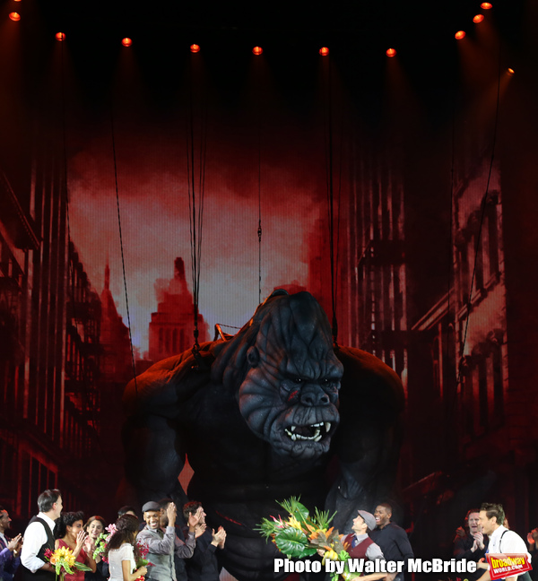 Photo Coverage: The Cast of KING KONG Takes Their Opening Night Bows
