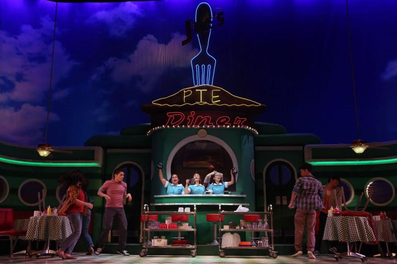Photo Flash: First Look at the International Premiere of WAITRESS