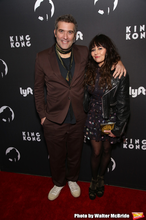Craig Bierko and Frances Ruffelle
