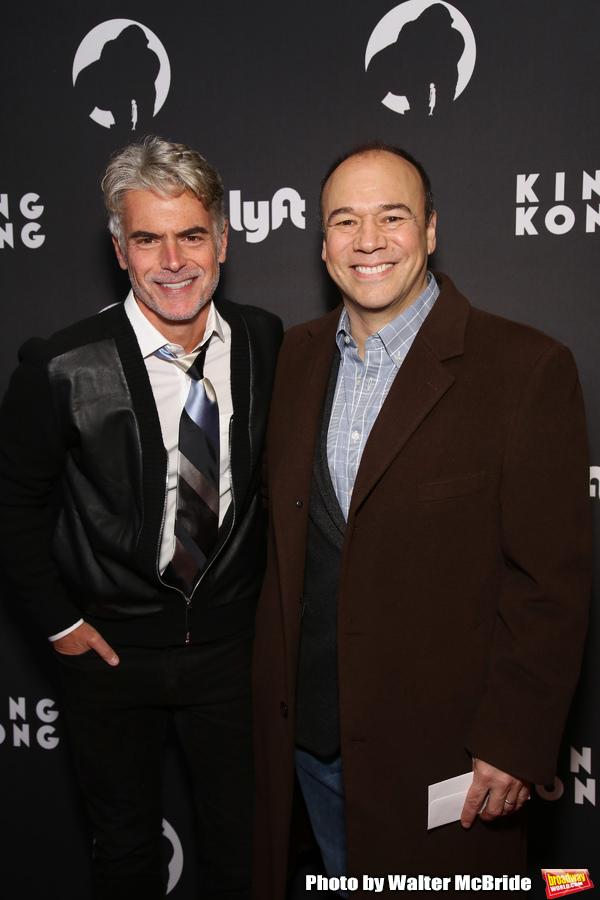Troy Britton Johnson and Danny Burstein Photo