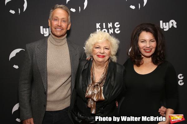 Peter Marc Jacobson, Renee Taylor and Fran Drescher Photo