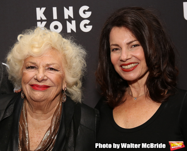 Renee Taylor and Fran Drescher