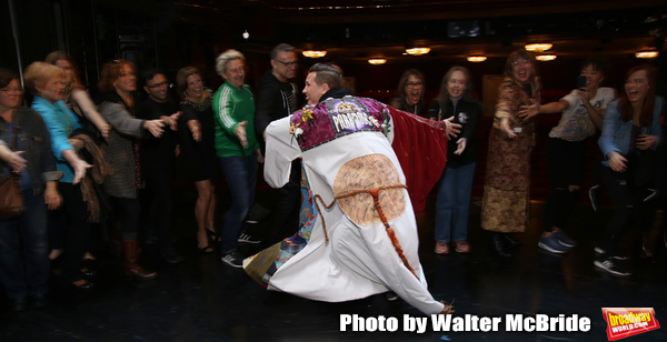 Exclusive Photo Coverage: Marty Lawson Receives the Legacy Robe for KING KONG!