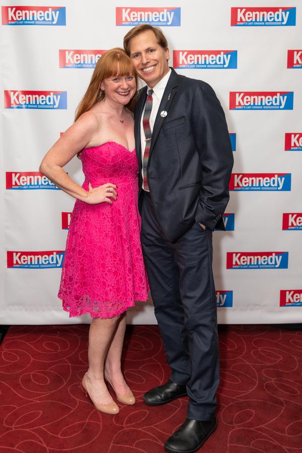 Photo Flash: KENNEDY: BOBBY'S LAST CRUSADE Celebrates Opening Night