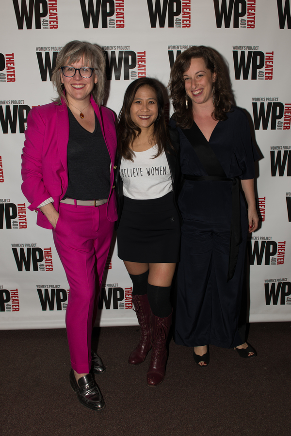 Lisa McNulty, May Adrales, Rachel Karpf