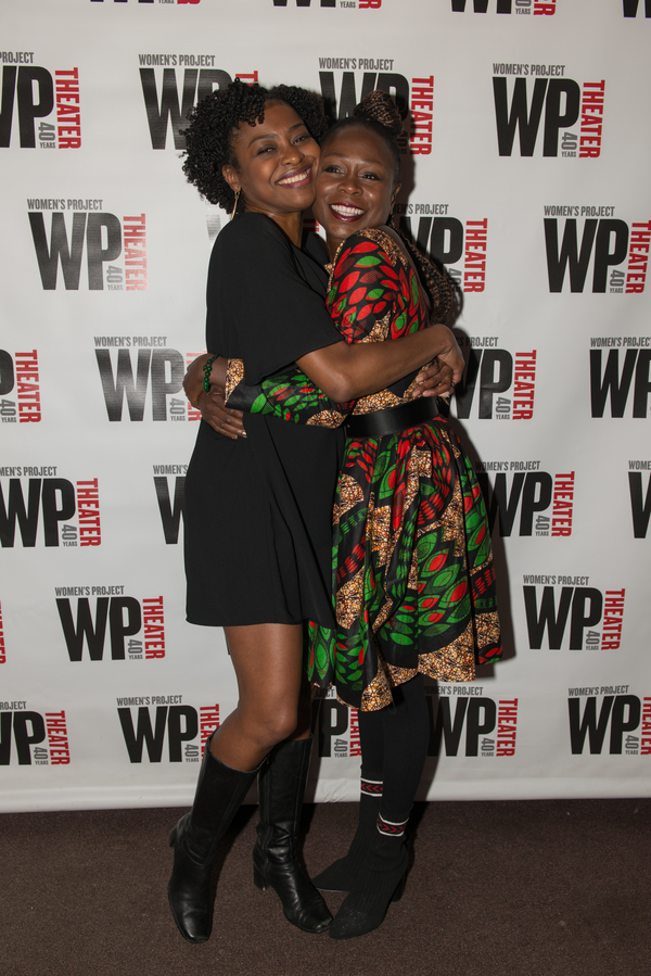 Pascale Armand and Zainab Jah